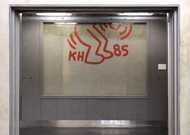 Keith Haring, sin titulo, 1985 (detalle)