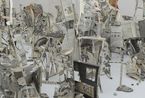 Johannes Van Der Beek, Newspapers Ruins, 2008