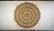 Richard Long, Garonne  Mud Circle, 1990